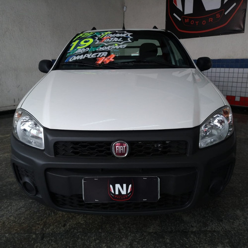 fiat strada 1.4 hard working 2019 completo