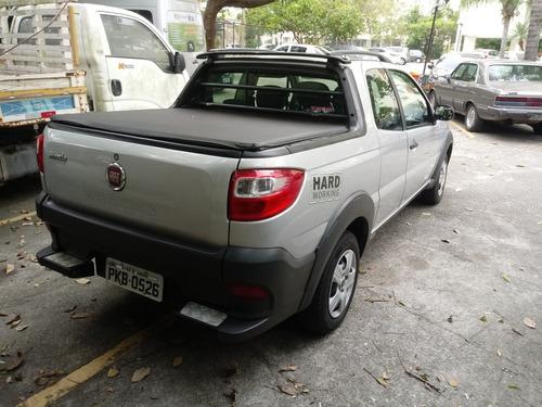 fiat strada 1.4 hard working cab. dupla flex 3p 2016