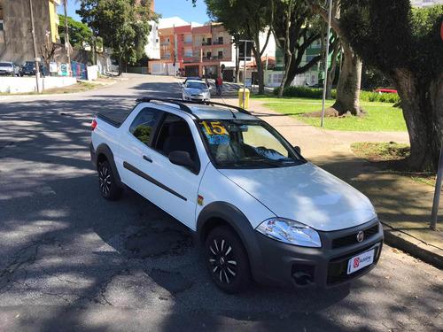 fiat strada 1.4 working cab. dupla flex 3p 2015 s/entrada