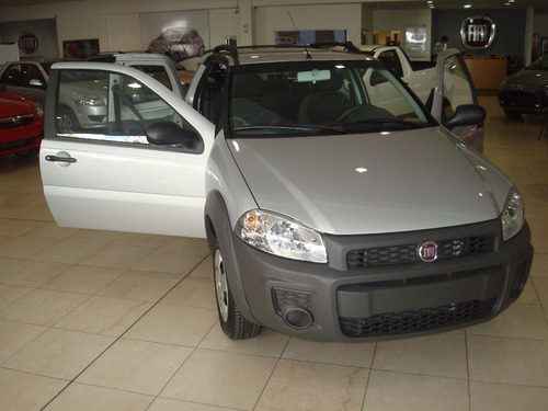 fiat strada 1.4 working cd tomamos usados ventas al interior