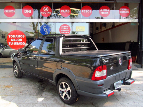 fiat strada 1.4 working c/doble ext gnc 5ta rpm moviles