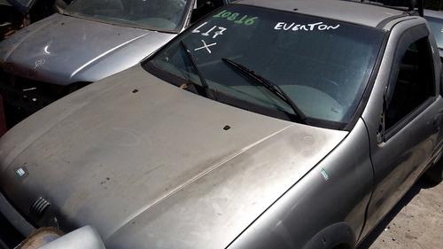 fiat strada 1.5 ano 1999 cor prata so pra retirada de pecas