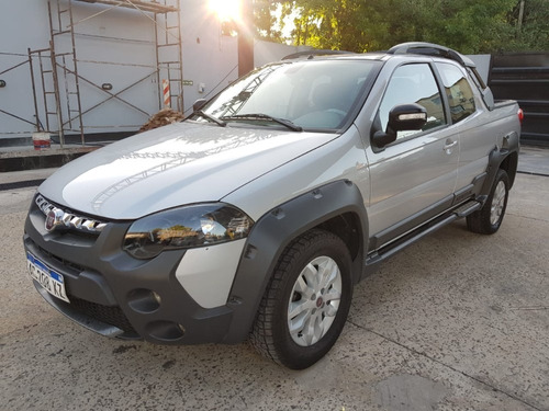 fiat strada 1.6 adventure cd impecable! 44.000kms!