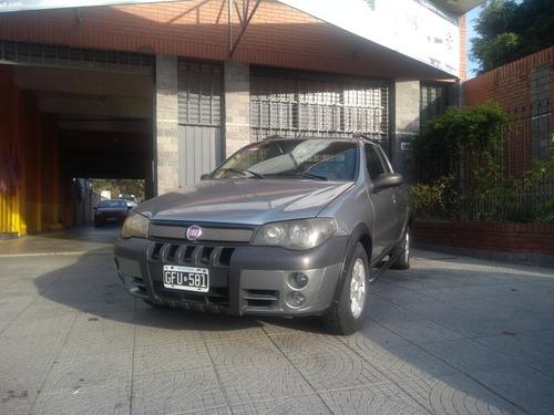 fiat strada 1.7 lx cab.ext. aa 2007