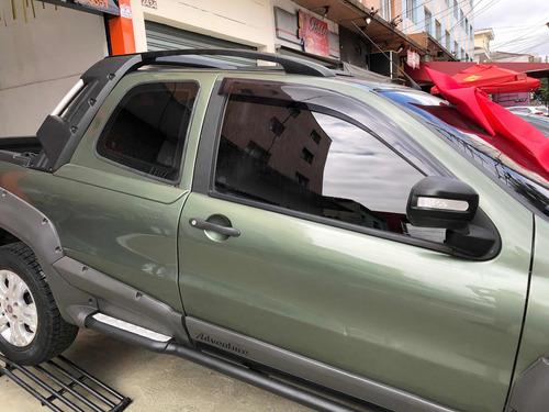 fiat strada 1.8 16v adventure cab. dupla flex 2p 2011 locker