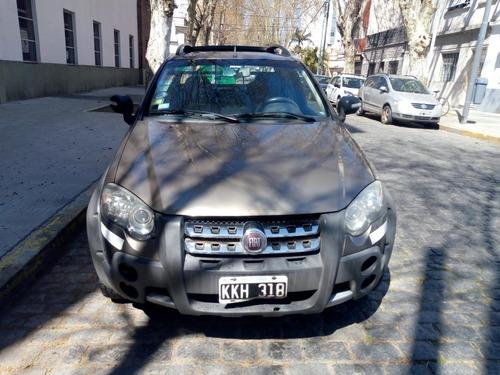 fiat strada 2011 d/ cabina 1.6 titular con gnc tomo usado