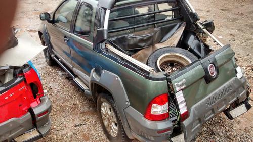 fiat strada 2013 e- torq / sucata para retirada de peças