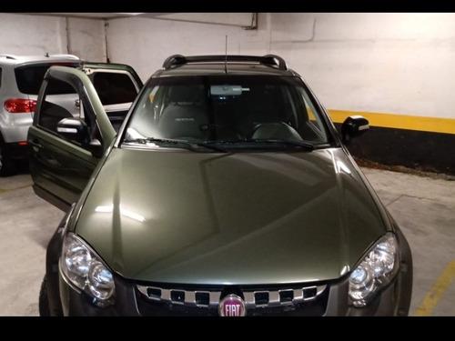 fiat strada 2015 1.8 16v adventure cab. dupla flex 3p