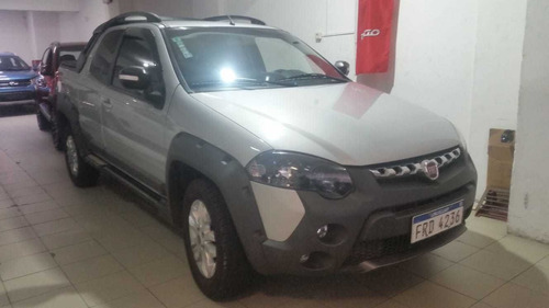 fiat strada adventure- 100% financiada-un dueño -67.000 kms