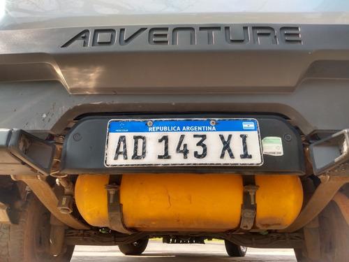 fiat strada adventure 1.6 . gnc.  2018 . primera mano. excel