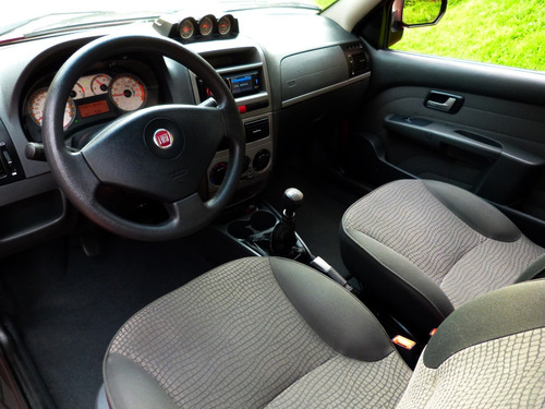 fiat strada adventure locker doble airbag abs full equipo