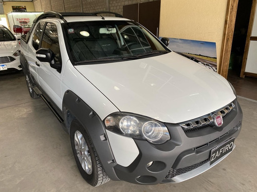 fiat strada adventure locker - gnc - año 2016