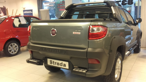 fiat strada adventure - working 2018 0km opcion de gnc