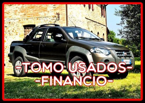 fiat strada financia c/cuotas$4000 t.usados 1165800329lr