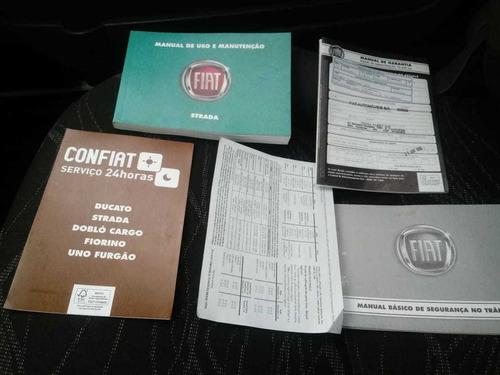 fiat strada hard working cs 1.4 flex 2017 completo