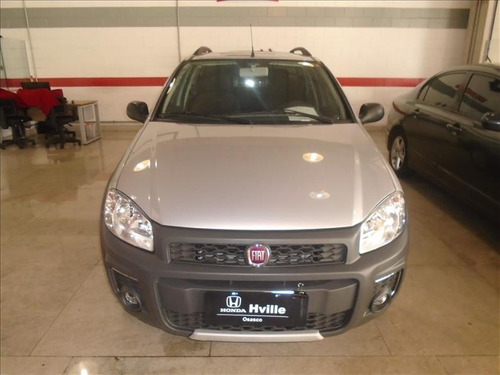 fiat strada strada  1.4 hard working cd flex 3p manual