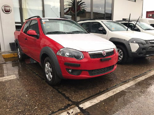 fiat strada working 1,4 87 cv rojo plan uva sin interes