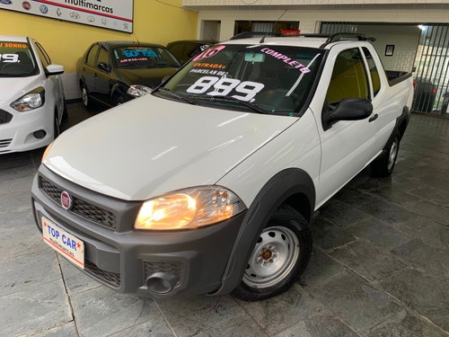 fiat strada working 1.4 branca (flex)