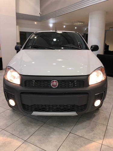 fiat strada working 1.4 cab. dob.! financiado - contado! lh1