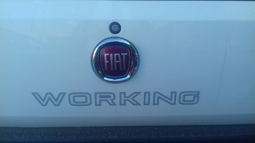 fiat strada working 1.4 cabina simple blanca rotter
