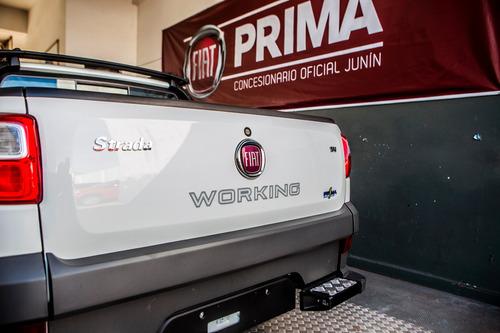 fiat strada working 1.4 doble cabina 3 puertas (disponibles)