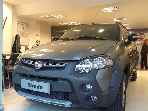 fiat strada working - adventure 2018 0km gnc opcional