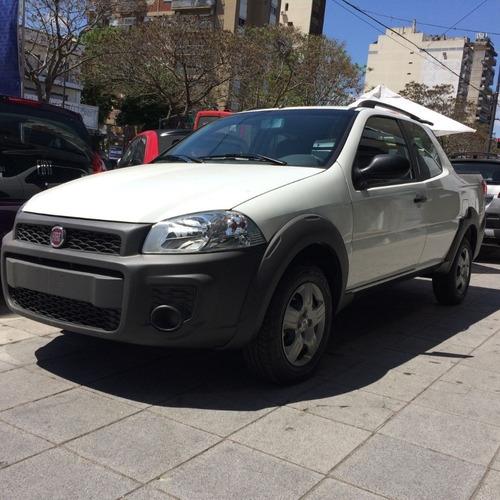 fiat strada working  cd retira julio anticipo y cuotas