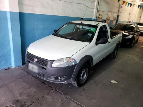 fiat strada working cs 1.4 2012 130000 km blanca