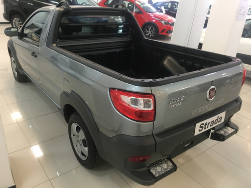 fiat strada working c/simple 1.4 gris 2 puertas 2019