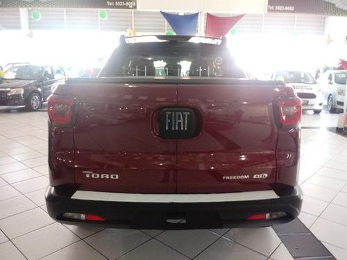 fiat toro 1.8 16v freedom flex 4x2 aut.  kit road 17/18/0km