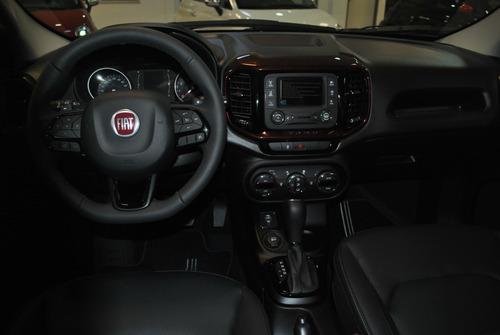 fiat toro 1.8 at 4x2 negra 4 puertas my19