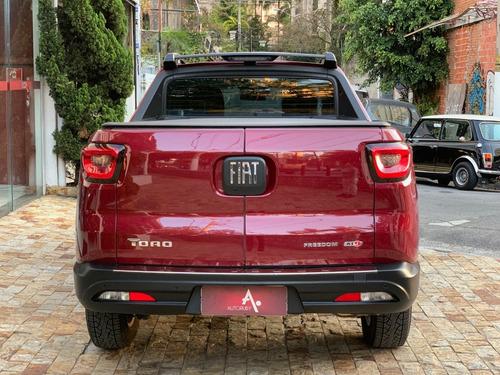 fiat toro 2.0 16v turbo diesel freedom 4wd at9 - 2019