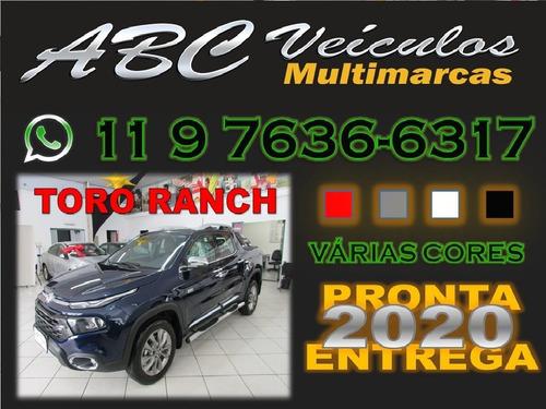 fiat toro 2.0 ranch 4x4 aut. 4p