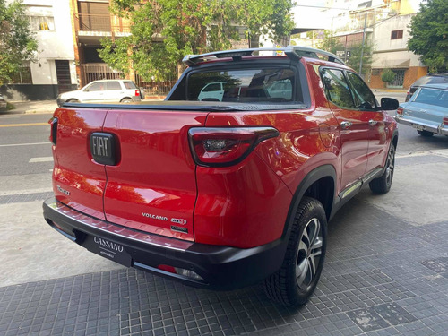 fiat toro 2.0 volcano 4x4 at 2017 rojo cassano automobili