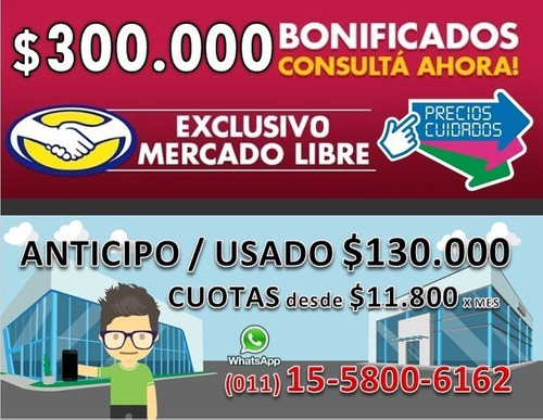 fiat toro 4x2 0km 2020 anticipo $130.000 y cuotas $11.800 a-