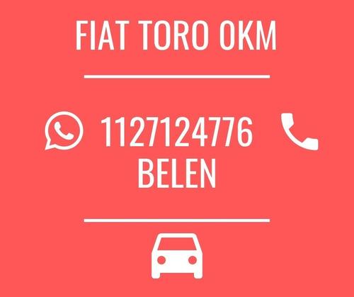 fiat toro freedom 1.8/2.0 4x2/4x4 todas las versiones 0km b