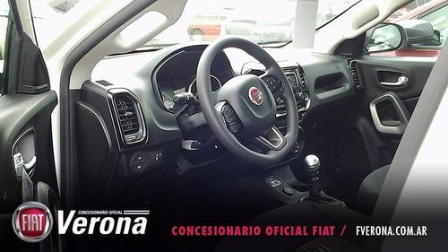 fiat toro freedom 2.0 multijet 4x4 2017 blanco 4 puertas 0km