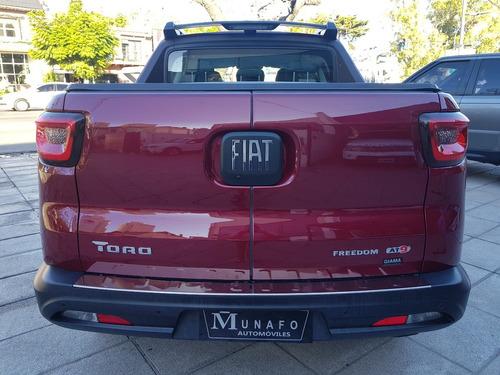fiat toro freedom at9 4x4 diesel 0km