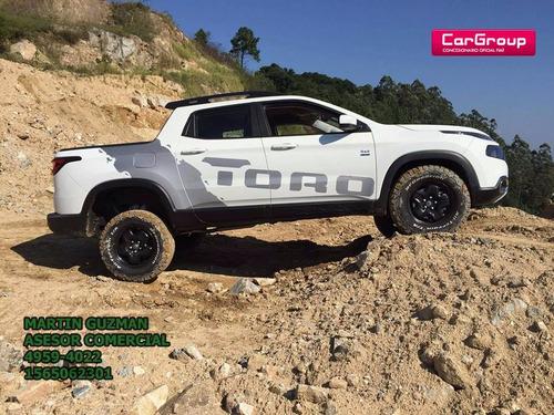 fiat toro freedom/ volcano 4x4/4x2 $100.000 y cuotas $5.500