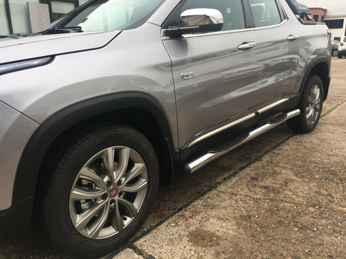 fiat toro ranch 2.0 at 4x4 2020 gris