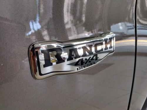 fiat toro ranch 4x4 2020 unica en stock entrega inmediata