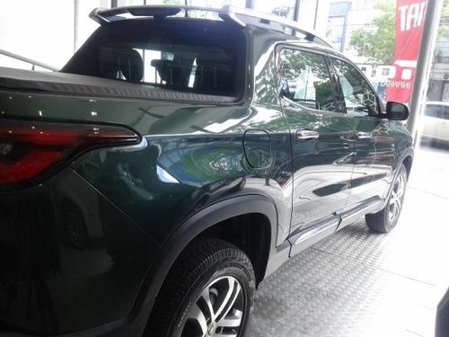 fiat toro volcano 2.0 2017 verde diesel