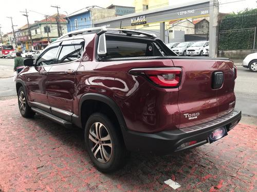 fiat toro volcano 2.0 diesel 4x4 2018 zero de entrada