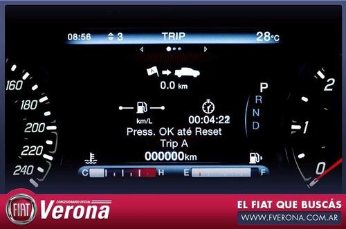 fiat toro volcano 2.0 diesel  multijet 4x4 rojo 4 puertas