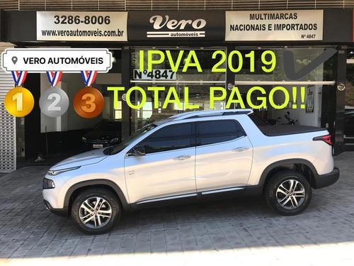 fiat toro volcano 4x4 automático 2017