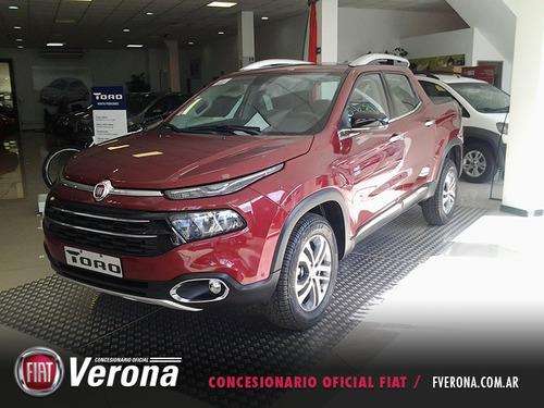 fiat toro volcano premium 4x4 2017 0km 5 puertas c/pack