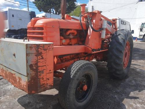 fiat tractor invertido con pala y uñas