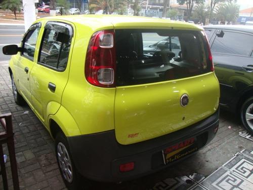 fiat uno 1.0 vivace flex 5p 2011/2012 amarelo