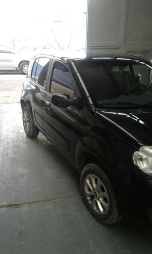 fiat uno 1.4 2012 color negro