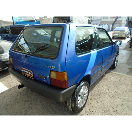 fiat uno 1.6 sx 1997 azul financiamos!!
